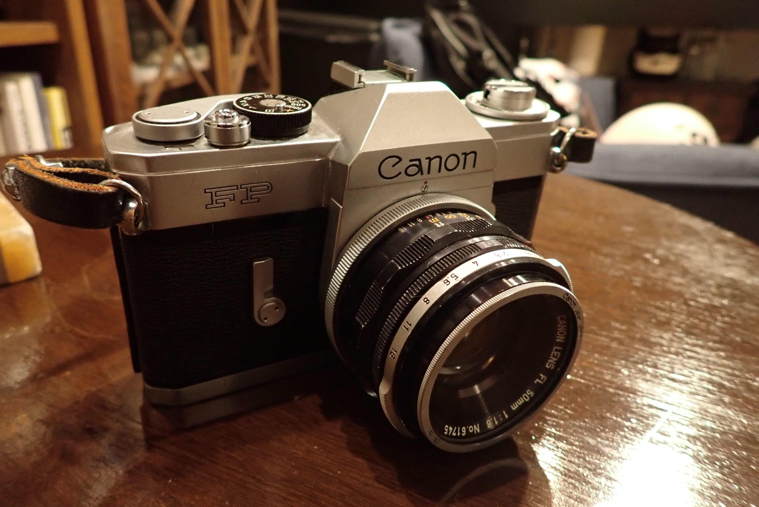 【キヤノン フィルムカメラ】Canon FP フィルムカメラを海外旅に持っていくべきか・・・?