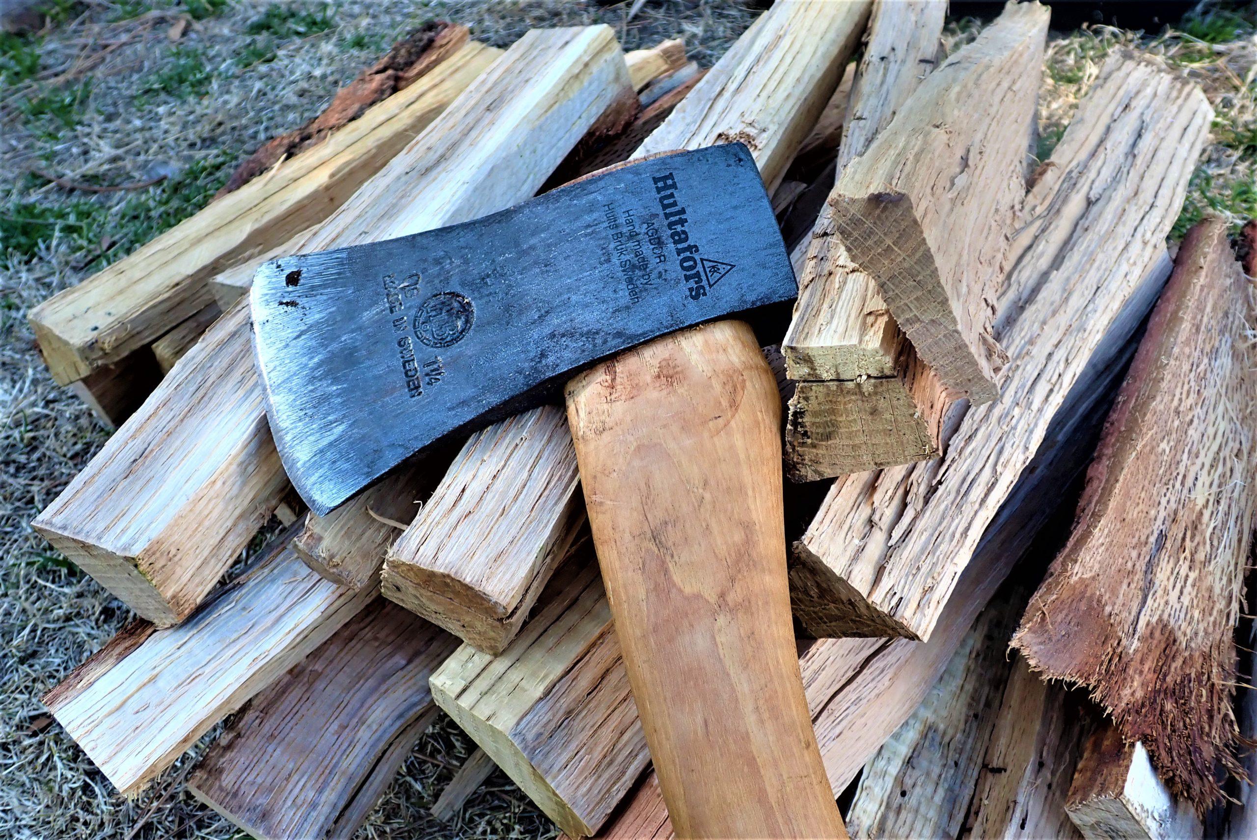 【薪割りをしてみよう】焚火は 薪を割るところから楽しむと一味ちがう?!