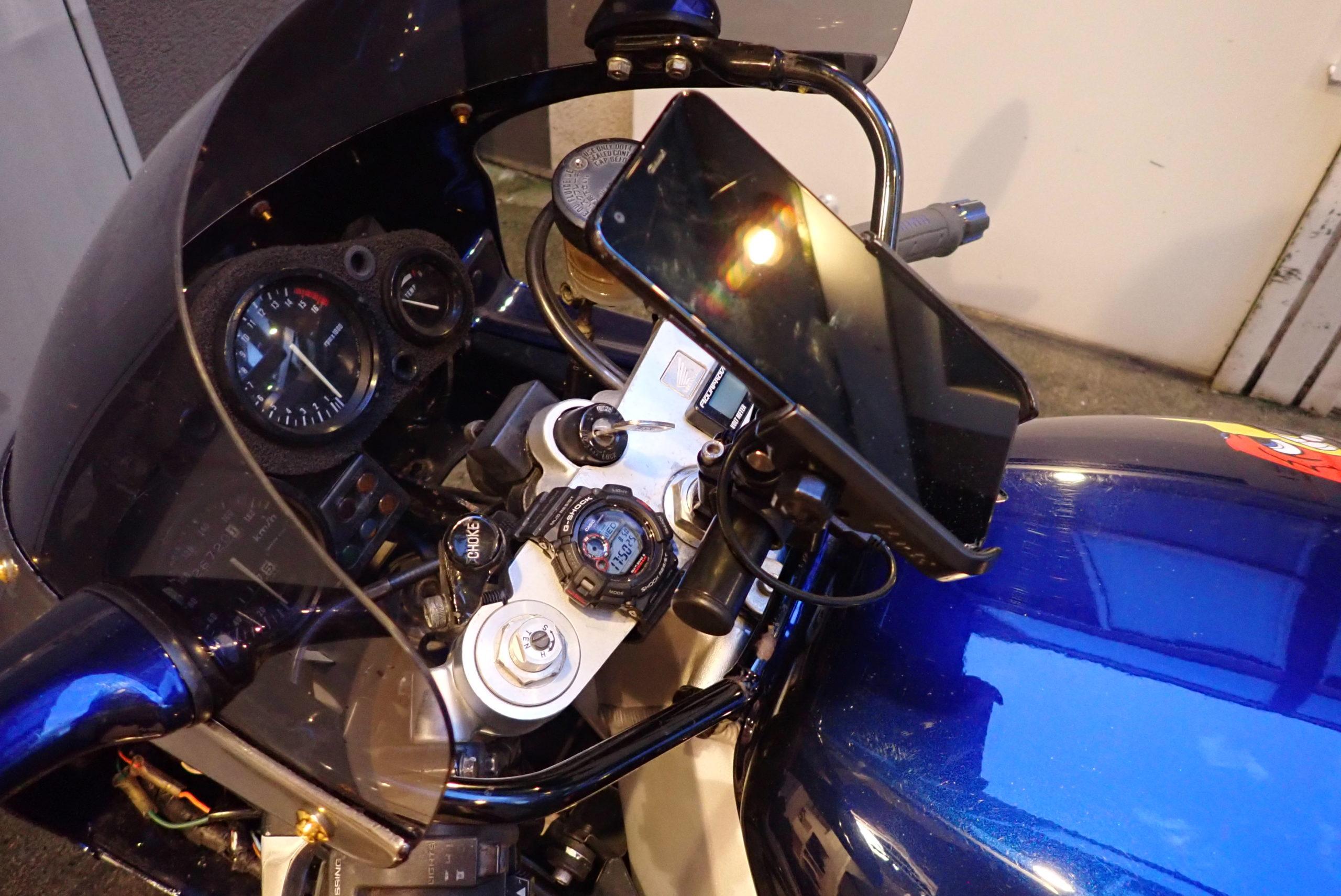 【バイクの話】CBR400RR DAYTONA マルチバーホルダーの加工