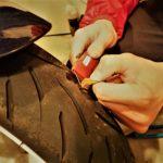 【バイクの話】チューブレスタイヤのパンク修理