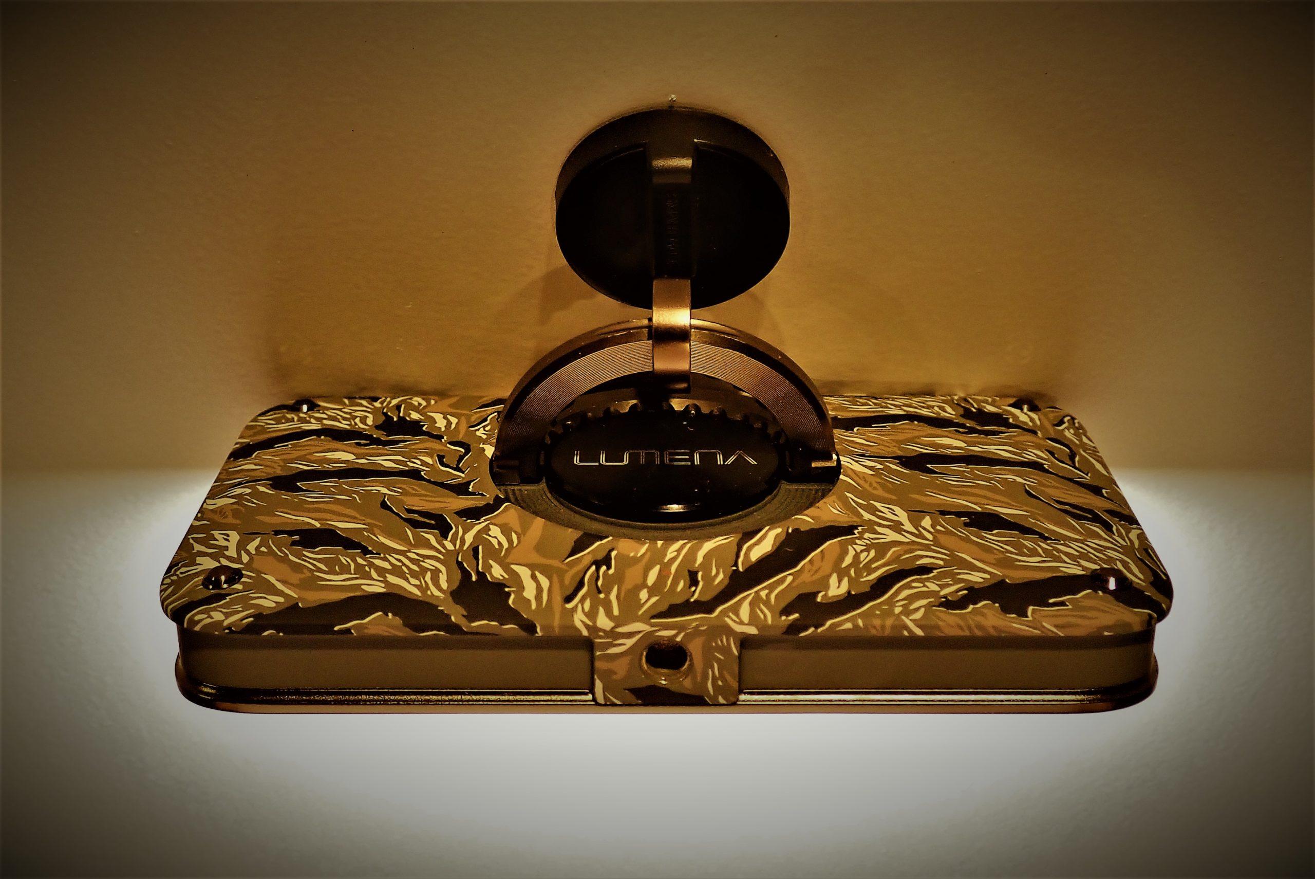 【Lumena 2】洗練されたLEDランタン 防塵・防水!モバイルバッテリーにも